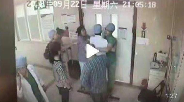 北京警方通报产妇家属殴打医生案:丈夫被刑拘,其女取保候审