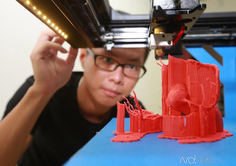 团队目前进行了山羊和兔子的骨骼3d打印
